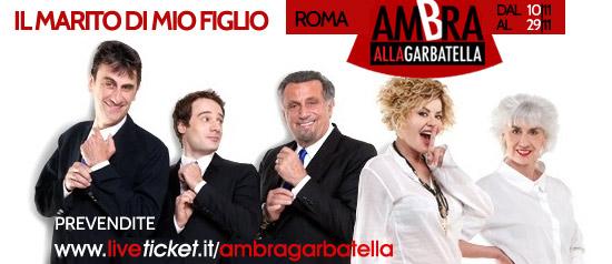 """""""Il marito di mio figlio"""" al Teatro Ambra alla Garbatella di Roma"""