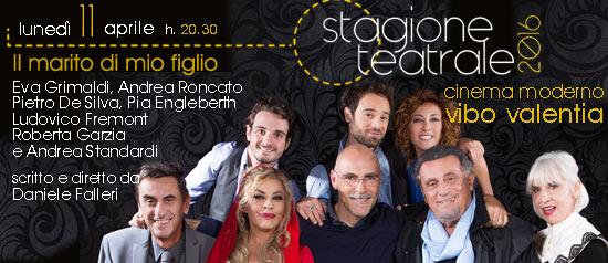 """Eva Grimaldi e Andrea Roncato """"Il marito di mio figlio"""" a Vibo Valentia"""