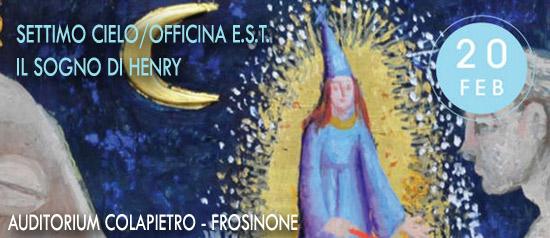 Il sogno di Henry all'Auditorium Paolo Colapietro di Frosinone