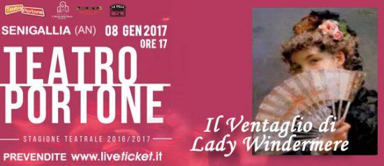 Il ventaglio di Lady Windermere al Teatro Portone di Senigallia
