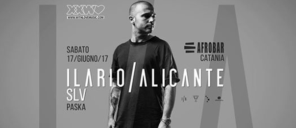 The sensational opening w/ Ilario Alicante a Afrobar di Catania