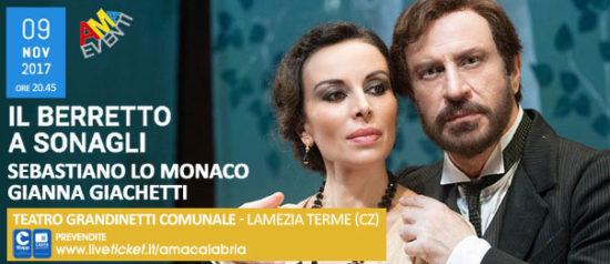 Il berretto a sonagli al Teatro Grandinetti di Lamezia Terme