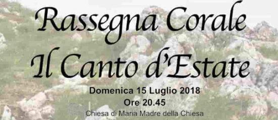 """Rassegna Corale """"Il Canto d'Estate"""" alla Chiesa di Maria Madre della Chiesa a Ronchi dei Legionari"""