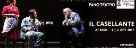 """Moni Ovadia, Valeria Contadino e Mario Incudine """"Il Casellante"""" al Teatro Della Fortuna a Fano"""