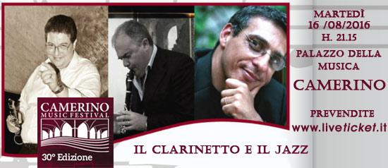 Il Clarinetto e il Jazz al Camerino Music Festival