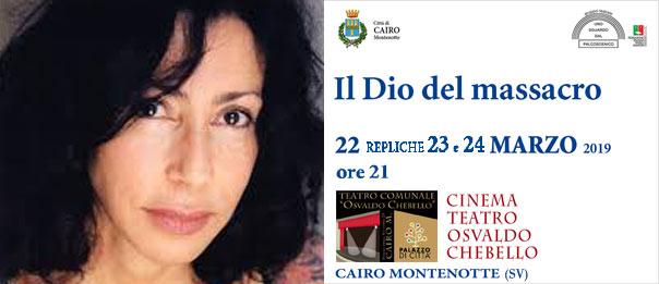 Il Dio del massacro al Teatro Osvaldo Chebello di Cairo Montenotte