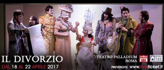 Il divorzio al Teatro Palladium a Roma
