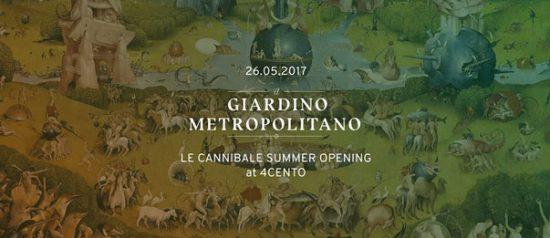 Il Giardino Metropolitano - Summer Opening al Ristorante 4cento di Milano