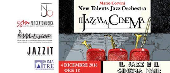 Il Jazz e il cinema noir al Teatro Palladium a Roma