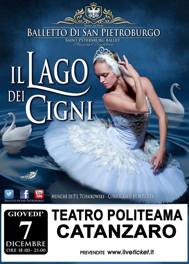 Il lago dei cigni al Teatro Politeama di Catanzaro