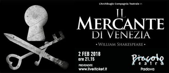 Il mercante di Venezia al Piccolo Teatro di Padova
