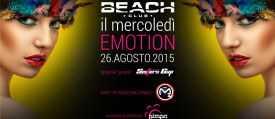 Emotion al Beach Club Versilia