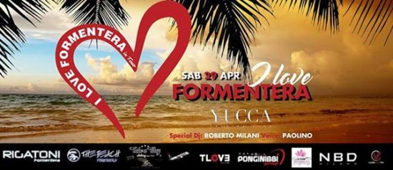 I love formentera a Yucca Fashion Club di Rescaldina