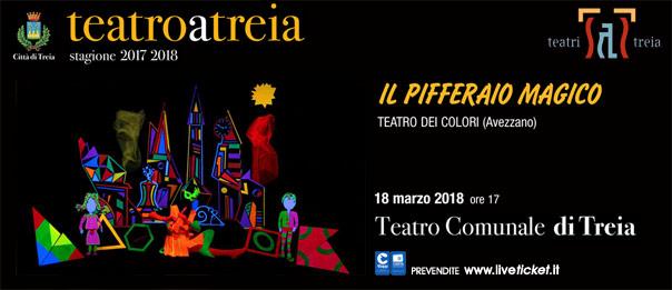 Il Pifferaio magico al Teatro Comunale di Treia