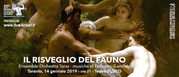 Il risveglio del Fauno al Teatro Fusco di Taranto