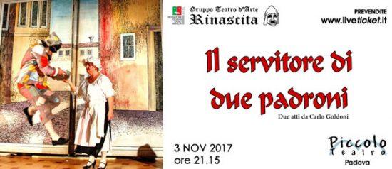 Il servitore di due padroni al Piccolo Teatro di Padova