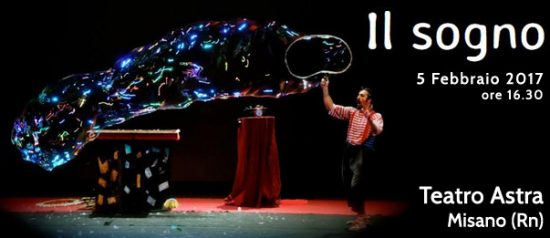Il sogno al Teatro Astra Misano Adriatico