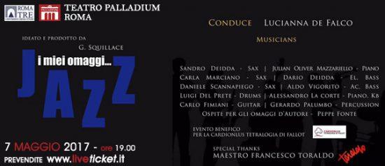 I miei omaggi...Jazz al Teatro Palladium a Roma