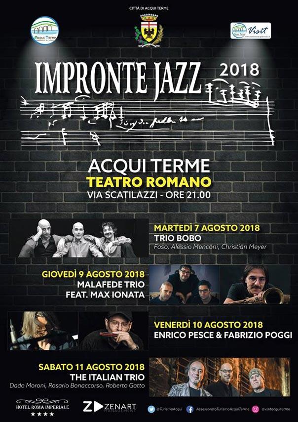 Impronte Jazz 2018 al Teatro Romano ad Acqui Terme