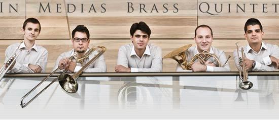 In Medias Brass Quintet in concerto al Teatro San Carlo di Modena