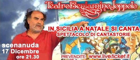 """""""A Natale in Sicilia si canta"""" al Teatro Beniamino Joppolo di Patti"""