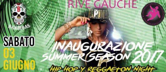 """Bandidas """"Inaugurazione Summer Season 2017"""" al Rive Gauche di Varzi"""