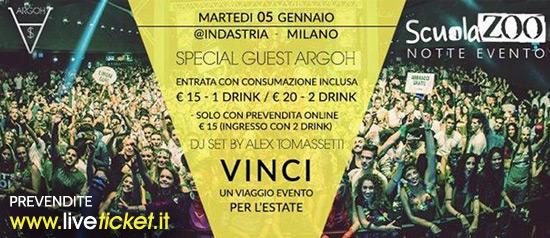 Scuola Zoo Notte Evento Indastria Milano