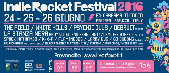 IndieRocket Festival 2016 a Pescara