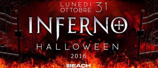 """Hallowen 2016 """"Inferno"""" The Beach a Milano"""