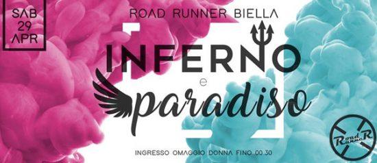 Inferno e Paradiso al Road Runner di Biella