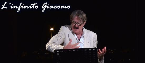 """Giuseppe Pambieri """"L'Infinito Giacomo"""" alla Villa imperiale Pausylipon di Napoli"""