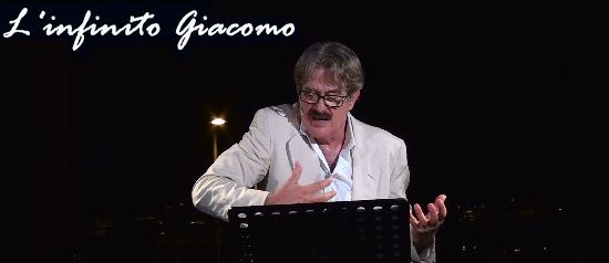 "Giuseppe Pambieri ""L'Infinito Giacomo"" al Giardino della Kolymbethra Agrigento"