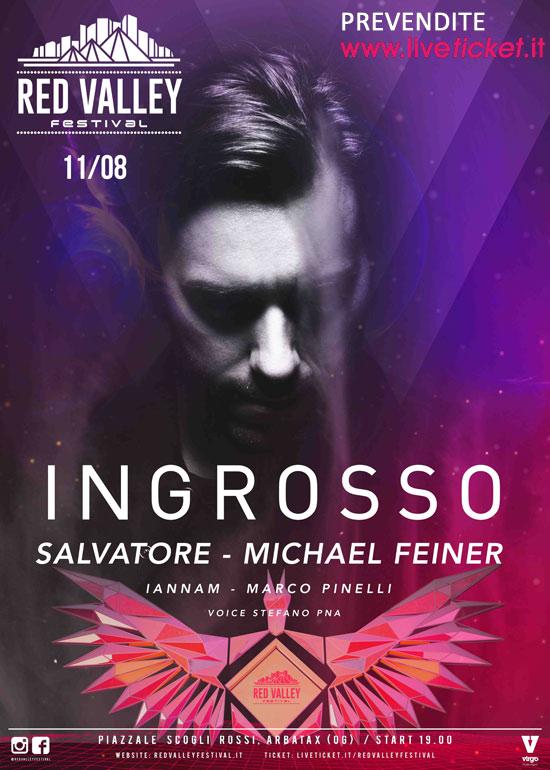 Sebastian Ingrosso al Red Valley Festival 2016 a Tortolì