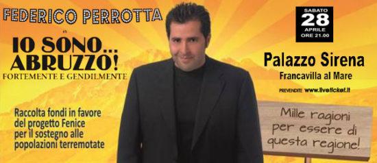"""Federico Perrotta """"Io sono Abruzzo"""" al Palazzo Sirena a Francavilla al Mare"""