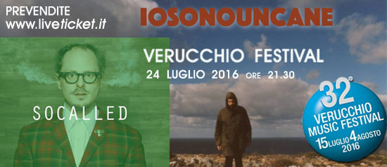 Iosonouncane + Socalled al Verucchio Festival