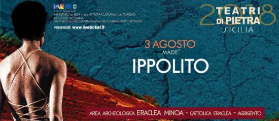 Ippolito all'Area Archeologica Eraclea Minoa a Cattolica Eraclea (AG)