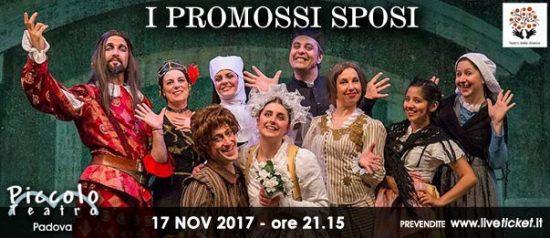 I promossi sposi al Piccolo Teatro di Padova