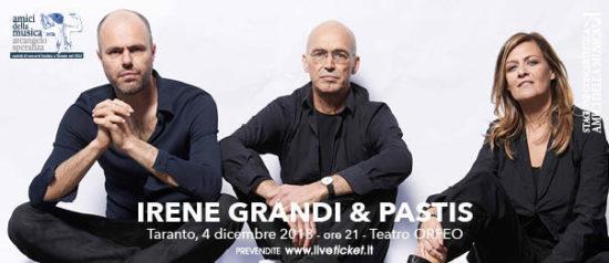 Irene Grandi & Pastis al Teatro Orfeo di Taranto