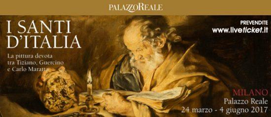 """Mostra """"I Santi d'Italia"""" La pittura devota tra Tiziano, Guercino e Carlo Maratta al Palazzo Reale di Milano"""