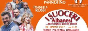 "Emanuela Rossi, Francesco Pannofino ""I suoceri albanesi"""