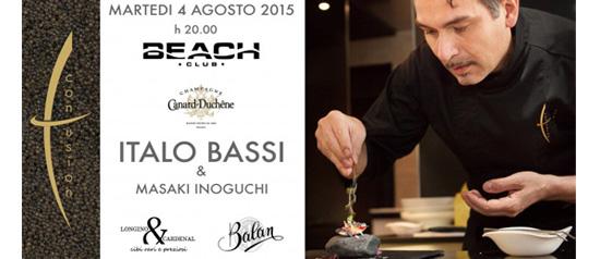 Italo Bassi & Masaki Inoguchi al Beach Club Versilia