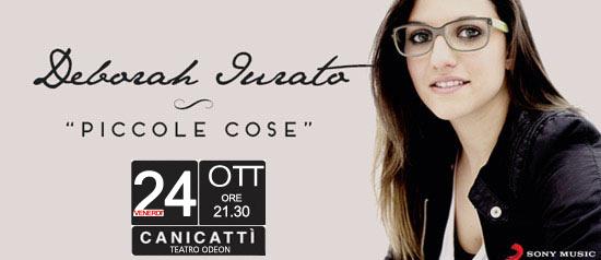 Deborah Iurato live al Teatro Odeon di Canicattì