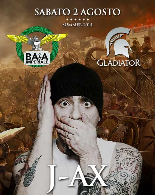 J-AX live Baia Imperiale a Gabicce