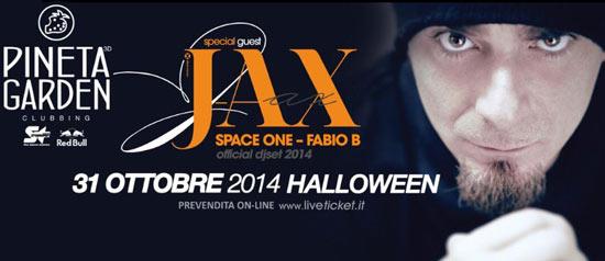 Halloween 2014 J-AX @ Pineta Garden di Sassocorvaro