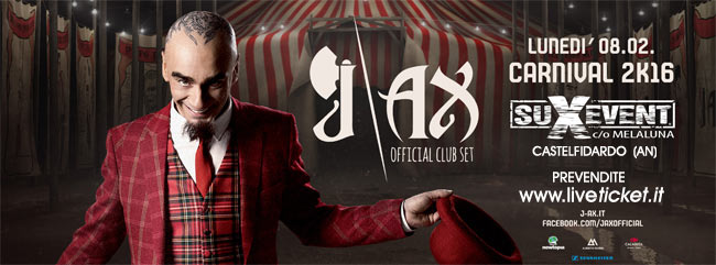 J-Ax Official Club Set al Melaluna di Castelfidardo