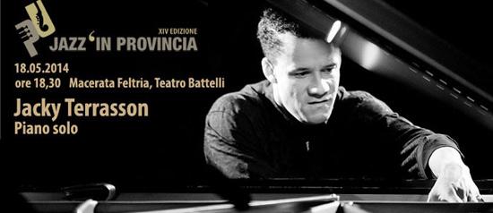 Jacky Terrasson al Teatro Battelli di Macerata Feltria