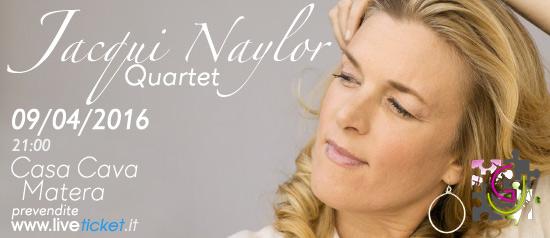Jacqui Naylor Quartet alla Casa Cava di Matera