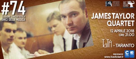 James Taylor Quartet al Teatro TaTà di Taranto