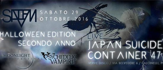 Live Japan Suicide + Container 47 al Verve di Calcinelli