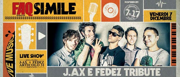 J.Ax & Fedez - Articolo31 Tribute Band al Faq Live Music Club a Grosseto